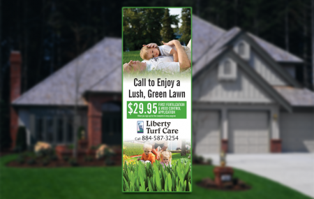 Door hangers are one of the oldest and most successful forms of direct marketing for lawn care companies. The primary reason they are so successful is pretty easy to understand -- your customer must handle them to remove the door hanger from their front door.