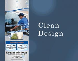 Clean Marketing Design