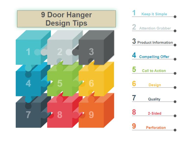 Door Hanger Design Tips