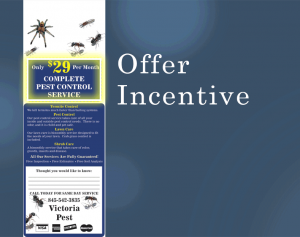 Offer Incentive